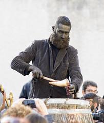 Battiledhos (Massajos)  -  Characteristic masker (Dei's Light) Tags: sardegna lula carnevale botte vino maschera folclore barbagia tradizione carrasegare ritidionisici battiledhos massajos