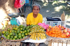 Fruit Galore (Alan1954) Tags: holiday fruit asia market philippines vendor luzon paoay 2015