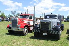 IMG_2835 (RyanP77) Tags: show california b white truck log model shiny trucker international chevy chrome r pete logger gmc peerless kw peterbilt ih kenworth cabover bullnose fruehauf