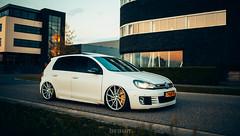 Volkswagen Golf VI GTI - Vossen (Rick Bruinsma) Tags: golf volkswagen air wheels performance gti vi stance airlift airride vossen