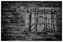 No prison walls (Daz Smith) Tags: city uk urban blackandwhite bw streets art blancoynegro monochrome canon bristol graffiti blackwhite bars candid graf citylife thecity streetphotography prison spraypaint walls canon6d dazsmith