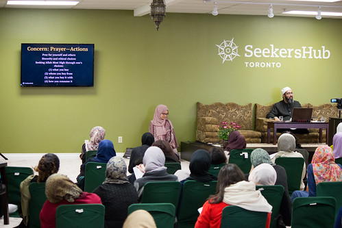 "Shaykh Yahya Rhodus at SeekersHub, Toronto and Seminar Series: Worship, Coffee and The Meaning of Life • <a style=""font-size:0.8em;"" href=""http://www.flickr.com/photos/88425658@N03/26746106322/"" target=""_blank"">View on Flickr</a>"