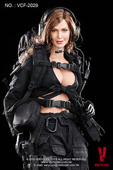 VERYCOOL TOYS VCF-2029 Black Female Shooter - 10 (Lord Dragon ) Tags: hot female toys actionfigure doll angelinajolie verycool onesixthscale 16scale 12inscale