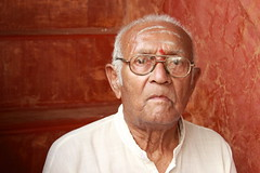 Grandfather (Exploring Photography (Suchitra)) Tags: people india grandfather