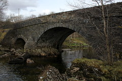 Bridge across the Fillan (Walruscharmer) Tags: river scotland stirlingshire riverfillan dalrigh