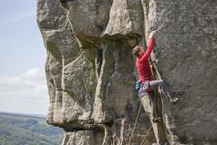 Insanity (E2 5c) (justincreid) Tags: peakdistrict climbing gb insanity curbaredge e25c