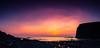 The Last Light Between The Cliffs (Elliot Tratt) Tags: sunset sky panorama orange cliff sun sunlight seascape haven beach sunshine silhouette digital canon season landscape eos landscapes spring cornwall skies glow sundown pano wide silhouettes sunny panoramic cliffs beaches expanse beachscape 2016 400d crackinton