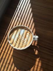 Latte art (Junojuno2010) Tags: coffee cappuccino latteart iphone6