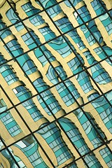 City Reflections (Karen_Chappell) Tags: city travel blue windows urban abstract reflection building geometric window glass lines architecture reflections geometry ottawa distortions