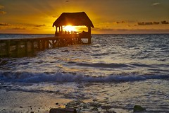 Cabana Sunrise (John Andersen (JPAndersen images)) Tags: ocean sky clouds sunrise mexico waves caribbeanocean