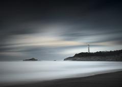 Atmosphere (Pedro Daz Molins) Tags: lighthouse luz landscape faro spain nikon long exposure mood atmosphere minimal pedro minimalism minimalismo minimalist larga diaz d800 exposicin minimalista molins lisght armosfera