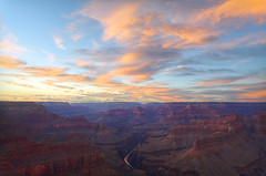 DSC_0039 pima point sunset hdr 850 (guine) Tags: sunset storm water clouds river grandcanyon canyon coloradoriver hdr luminance grandcanyonnationalpark qtpfsgui