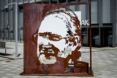 Azkuna (jdelrivero) Tags: red sculpture rojo arte steel ciudad colores bilbao escultura material provincia bizkaia acero