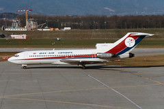 Dan-Air London Boeing 727-46 G-BAFZ (Kambui) Tags: london geneva airplanes planes danair aviones avions genf flugzeuge  avies boeing727 aeroplani  gbafz