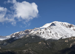 28 May 16 Pikes Peak Summit (ethanbeute) Tags: forest colorado hiking hike snowcapped trail coloradosprings summit cascade pikespeak utepass pikenationalforest heizertrail