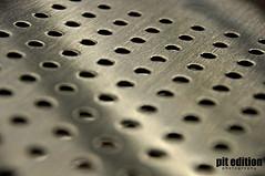 Agujeros The holes (pit edition) Tags: macro textura metal point photography photo nikon photographer d steel interior agujero pit holes varios pedro tamron abstracto 18200 metalic acero profundidaddecampo puntos lneas monocromtico macrofotografa agujeros patrn profundidad d5000 nikond5000 pitedition