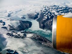 A Glacier From The Air (Greenland. Gustavo Thomas  2016) (Gustavo Thomas) Tags: voyage travel viaje winter naturaleza ice nature landscape greenland glaciar hielo airview groenland groenlandia