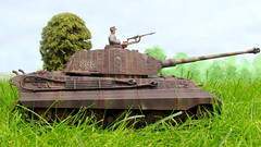 Tiger II (Inaction Figure) Tags: tank normandy 1944 panzer kingtiger worldwartwo germanarmy 135scale tigerii royaltiger