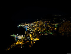 Monaco At Night (leonvanlaarhoven1987) Tags: city water june skyline architecture night dark landscape boats photography evening photo nikon long exposure cityscape nightshot image outdoor kitlens montecarlo monaco 1855 nikor d3300