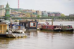 House Boating (shirley319) Tags: uk england london water thames boat unitedkingdom may hammersmith hammersmithbridge 2016 d600