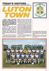 Coventry City vs Luton Town - 1991 - Page 17 (The Sky Strikers) Tags: road city blue sky magazine one town official division coventry pound peugeot league luton barclays highfield matchday