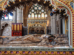 The beauty of Exeter Cathedral (Digidoc2) Tags: uk windows church architecture tomb chapel exeter 14thcentury grandeur exetercathedral ladychapel bishopstomb
