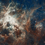Hubble's Panoramic View of a Turbulent Star-making Region thumbnail