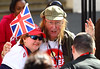 John McCririck Sainsbury's Sport Relief Mile 2012 - London