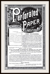 1891 Perforated and Medicated Toilet Paper  - Peculiar in the 21st Century (carlylehold) Tags: new york opportunity ny robert mobile century paper tissue victorian 21st toilet email sheets smartphone join tmobile prevention disease perforated peculiar keeper medicated signup 1891 haefner carlylehold rollsdiamond rollrollsdiamondalbany nynewyorkdiseaseprevention solavei haefnerwirelessgmailcom