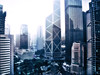 Central, Hong Kong (mozartet) Tags: china building photoshop canon hongkong central bank artizen sd800