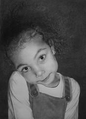 Mia II (Kelvin Okafor) Tags: art pencil drawing charcoal miaii kelvinokafor