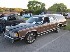 1988 Mercury Grand Marquis Colony Park (splattergraphics) Tags: wagon mercury 1988 stationwagon cruisenight grandmarquis colonypark glenrockpa marketsatshrewsbury