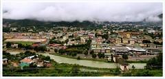 5.51 hrs; Aug 28, 2010; Thimphu where Wangchu flows through.. (~GlassLightHues~) Tags: woman clouds canon photographer bhutan indian traveller rains monsoons thimphu unspoilt eos7d glasslighthues gettyimagesindiaq4 riverwangchu thecountrycapital lushgreenthimphu