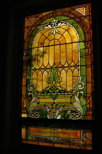 Stained Glass Window, In Memory of the Harwoods