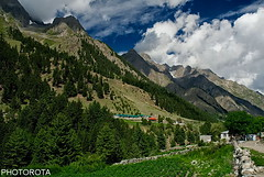 BEAUTY OF NALTAR (PHOTOROTA) Tags: pakistan mountain green nature landscape nikon flickr valley abid naltar ringexcellence photorota
