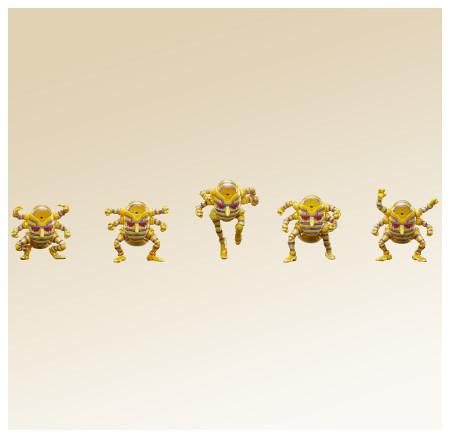 """雕像傳說WF2012[夏] 限定品:""""承太郎&白金之星""""2次色套裝&錢寶寶補充包!"""