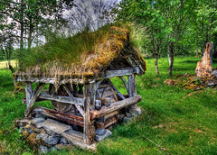 The Water Wheel (Askjell's Photo) Tags: norway museum rural canon photo flickr image picture hdr waterwheel sunnmre rsta newmindspace throughtheviewfinder askjell