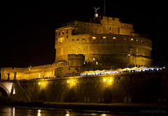 "Notturno, Castel Sant'Angelo • <a style=""font-size:0.8em;"" href=""http://www.flickr.com/photos/89679026@N00/7471683034/"" target=""_blank"">View on Flickr</a>"