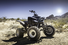 Yamaha Raptor 660 (BurgersPhotos) Tags: california sun photoshop canon out with desert 4 taken sharp southern raptor yamaha vehicle f4 1740 660 lightroom quads atvs cs6 60d