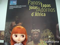 Agenda Cultural de Aisha, exposição Panos,tapas,joias e adornos d'África.