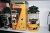 Lamp collection (Matthijs (NL)) Tags: usa lamp yellow canon centennial collection lantern coleman kerosene 30d paraffin canoneos30d 285a 100yr selectefuel 200987j