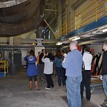Tweeps learning about the wind tunnel