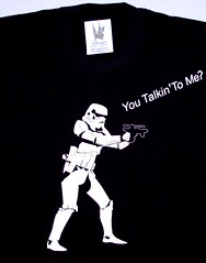 Remera stormtrooper talkin' to me (Lady Krizia) Tags: movie starwars tshirt cine stormtrooper vinilo remera wilwarin remeras estampado termoestampado