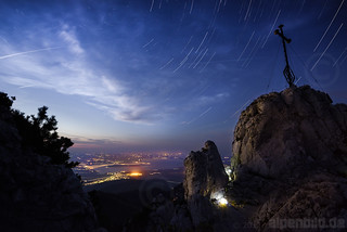 Kampenwand and Star Trails