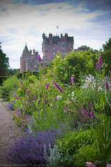 Glamis Castle from Gardens (bazmcq) Tags: uk house castle heritage gardens canon garden eos scotland highlands alba unitedkingdom britain angus united great north scottish kingdom historic highland scot historical british scots queenmother 500d glamis glamiscastle flickraward barrymcqueen yahoo:yourpictures=yourbestphotoof2012