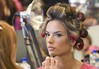 Alessandra Ambrosio Victoria Secret Fashion Show Backstage Hair and Makeup at the Fountainebleau Miami Beach, Florida