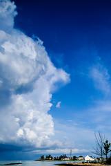 Storm clouds above Governor's Harbour, Eleuthera, Bahamas (Gerald Adams) Tags: bahamas eleuthera stormclouds