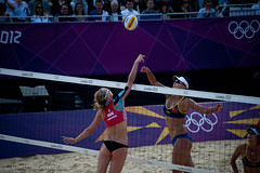 Russia vs China - Women's Beach Volleyball, London 2012 (pastamaster39) Tags: london olympics london2012