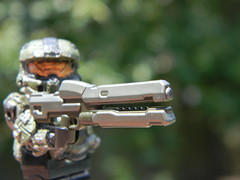 Halo 4 Master Chief with BA Railgun (JPO97Studios) Tags: brick arms lego chief 4 halo master ba custom affliction minifigure railgun