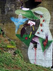 Érase una vez el Bosque (Felipe Smides) Tags: streetart mural pintura valdivia intervención smides felipesmides